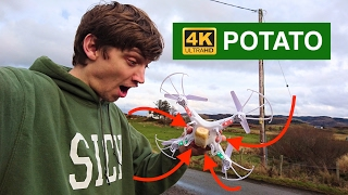 4k Potato! Syma X5C camera upgrade