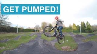 #3 Get Pumped! Shredding the Inverness pump track.