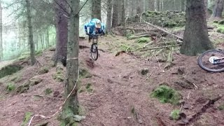 Awesome MTB crash - The Faceplant