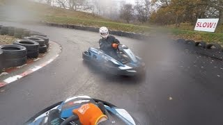 Family Death Race. Go Karting in Aviemore