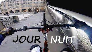 ????JOUR & NUIT???? VTT EN URBAIN |...