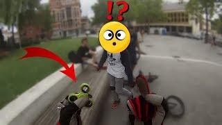 LE RESPECT ENTRE RIDERS ???? DH, Bmx, roller...