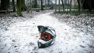 Délire dans la neige en VTT ????