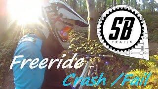VTT Freeride - Sterbike Trail - Crash/Fail