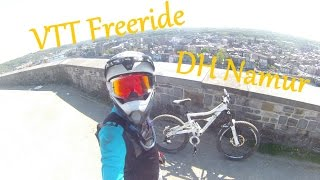VTT Freeride - DH Namur | Crash - Fail | GoPro