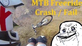 MTB Freeride | Crash - Fail | La chaussette...