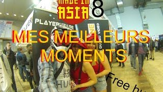 Mes meilleurs moments à Made In Asia 8 (2016)