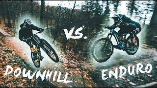 ENDURO vs. DOWNHILL - Bike Challenge! | Luis...