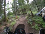 KTM 990r on TTT single track trail
