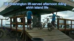 Denman Island to Mt Washington lift served biking