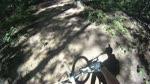 Ripping the Kanuga Trail at Paris Mountain