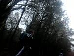 me crashing into a mound of mud