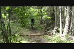 Matt Riding Godey Creek