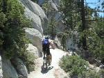 Gary K on The Flume Trail