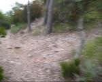 descent of Mont Vinaigre via GR51