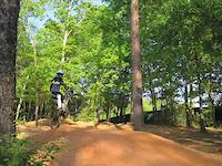 Biking at Country Park Greensboro, NC