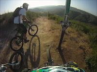 GoPro HD Hero- Santiago Oaks- Mountain Goat