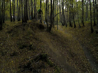 Chill ride in Trupi Forest