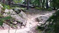 small rock drop at three sisters