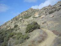 Jump at Rocky peak