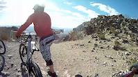 Riding in bootleg canyon