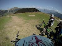 downhill La Tobogaine blue track 2011