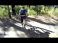 Ripping up some Marg River single track