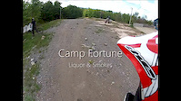 Camp Fortune - Liquor & Smokes - Helmet...