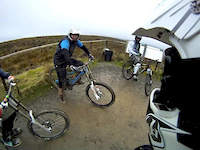Facing my demons!... in Cwmcarn - Feb 2013