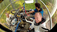 DH Bikers in a Gondola 2012