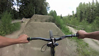 Whistler Dirt Jumps (Broke Arm On Crash At The...