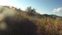 Sunset Riding on Emerald Mountain