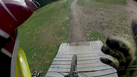 Palenica BikePark DH black line Sierpień 2013
