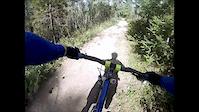Jasper ALberta Canada Mountain Biking on Route...