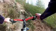 Balblair - last two sections of Black track mtb