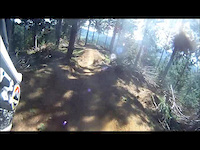 FourForty Mountainbike Park, NZ. Pink Stoat...