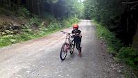 10 year old Gavin reis in Squamish