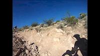 Failed steep climb attempt