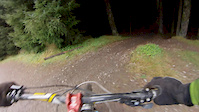 first time doing down hill at Innerleithen