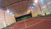 tennis cam embarquée