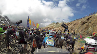 Megavalanche Qualifying Run 2014