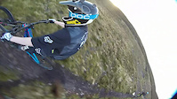 James irvine rides sandy loch with the rotor mount