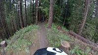 Crazy Ivan trail at Tokul East
