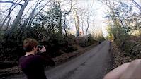 Perry woods Road gap