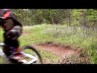Toowoomba downhill track, Rhys Shields