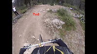 Go Pro: ALains Downhill to Creek
