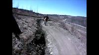 Me in Front Going Downhill in Devon Voyageur Park