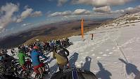Mass start enduro race in Glencoe, Scotland 2015