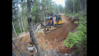 EZ Does It trailwork - Whistler Bike Park May...
