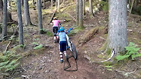mtb kids in Squamish